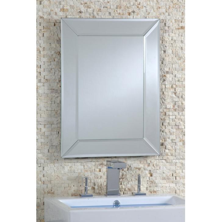 Espejo con biselado rozen - Espejos grandes para pared ...