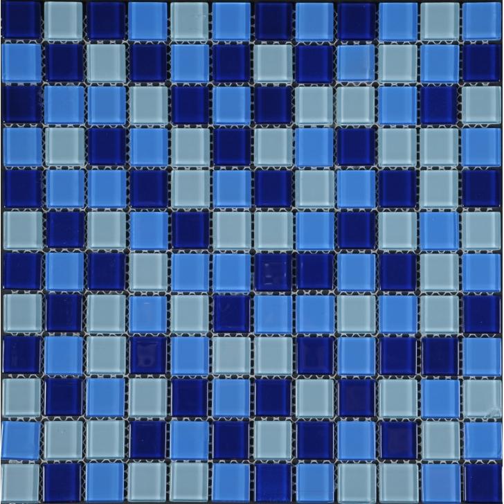 Mosaico tonos azules rozen - Tonos azules ...