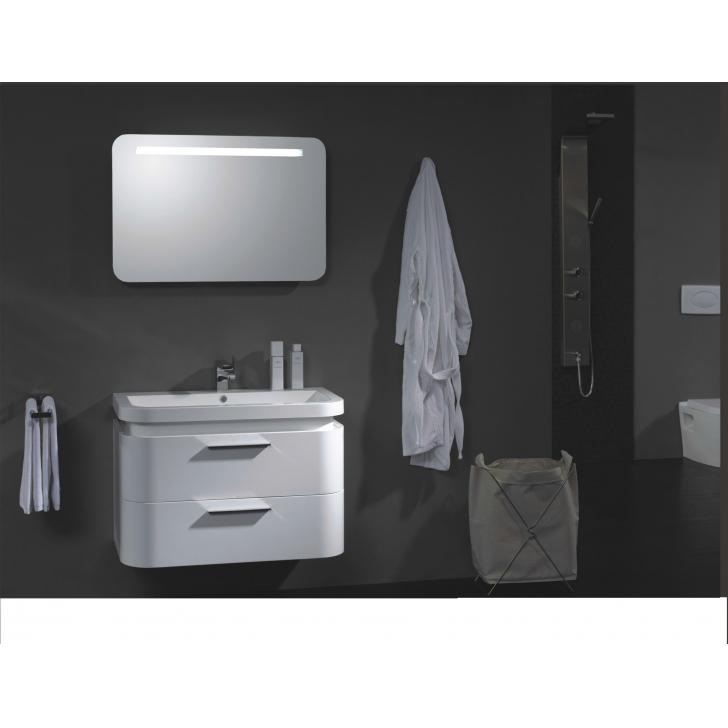 Muebles Para Baño Uy:Inicio / Muebles de baño / Mueble de Baño Original Blanco Laqueado