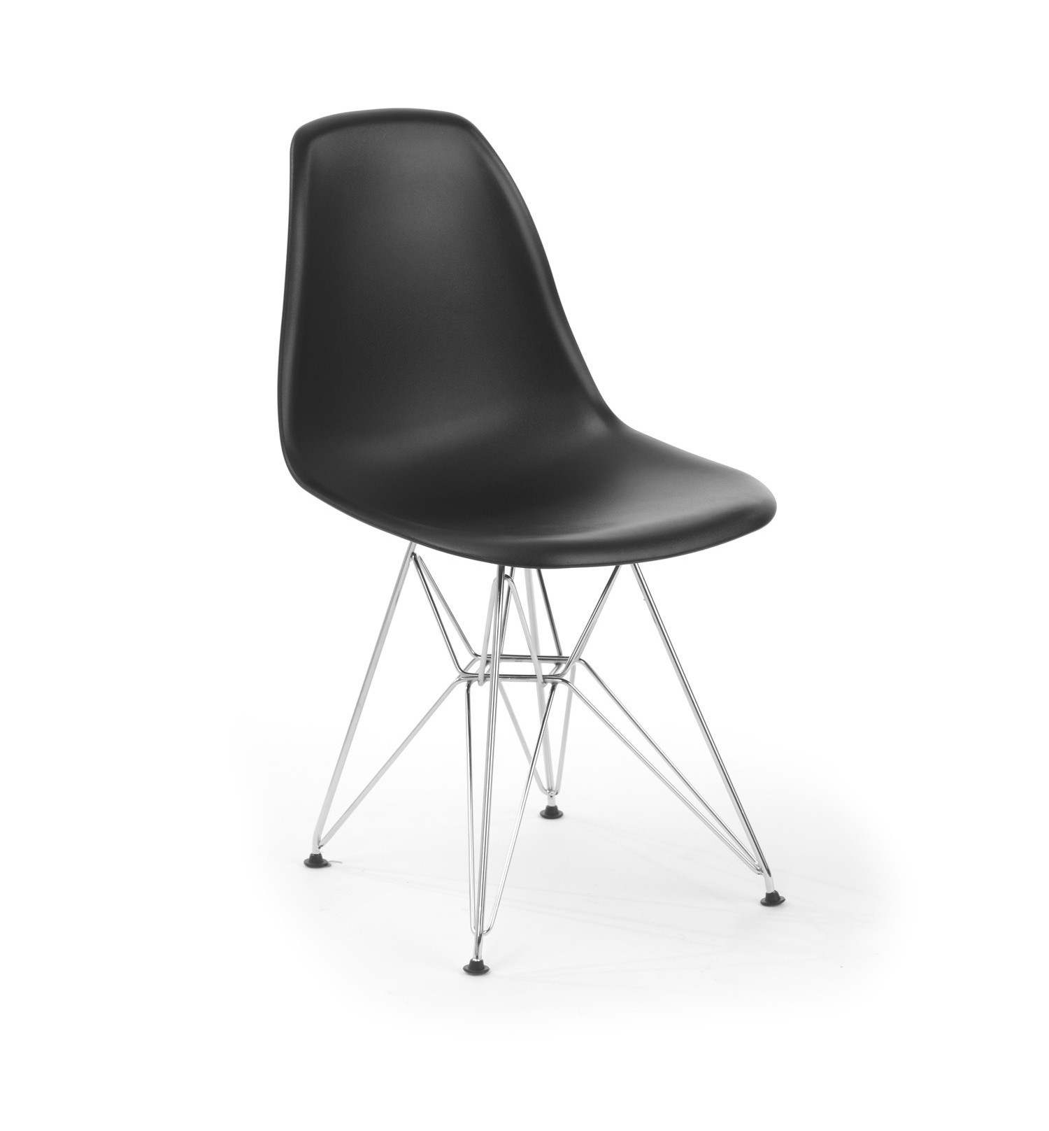 Silla eames dsr black rozen for Muebles eames