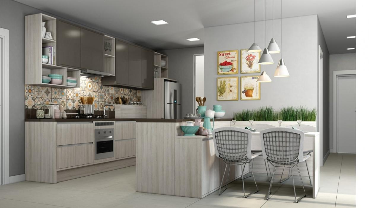 Cocina moderna rozen for Disenos de cocinas en cuba