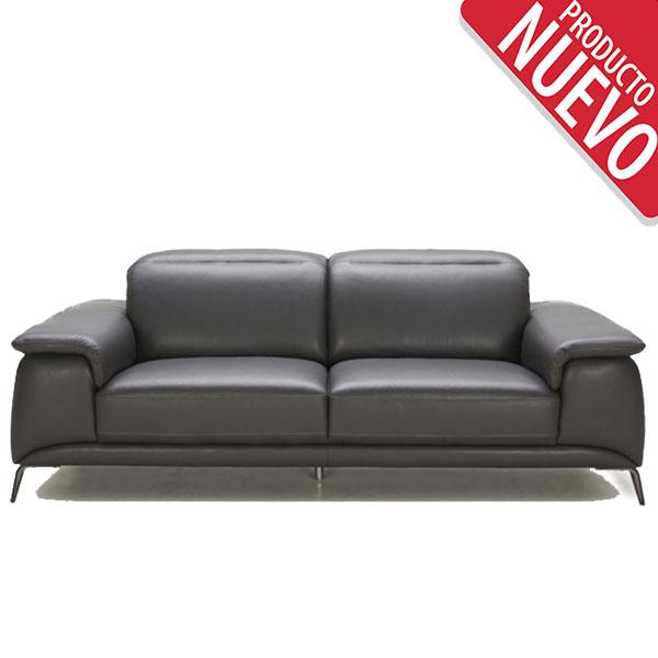 Sof s rozen - Sofa cuero negro ...