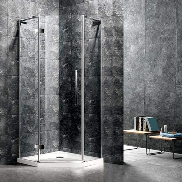 ... Mampara de Ducha esquinera. 🔍. Funcional y decorativa para crear tu  baño ideal. dbcbffdd4fd0
